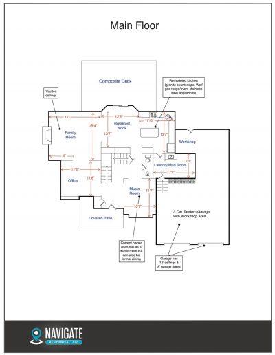 a Floorplan - Main Floor