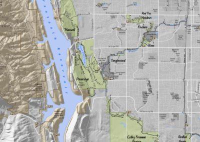 a. Pineridge & Maxwell Maps
