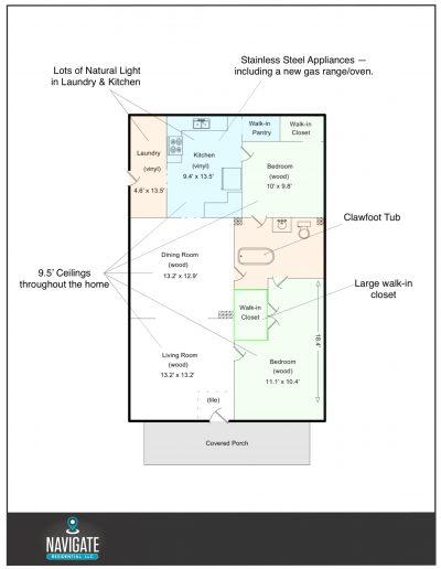 813 Laporte - floorplan