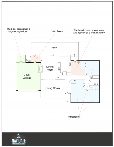 2404 Mathews - Floorplan