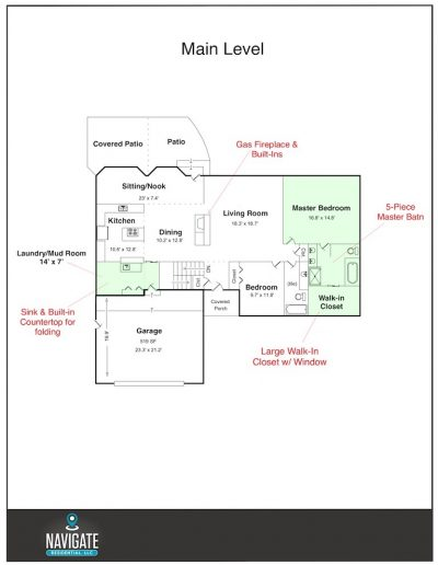 Main Level - Final - Stratborough Floorplans
